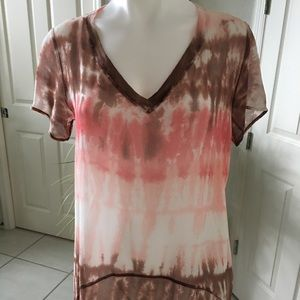 Raw silk top by the Refinery